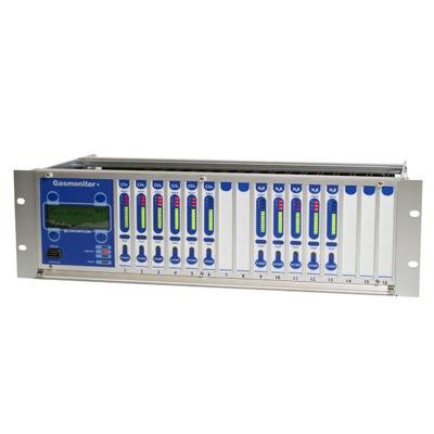 Kontrolpanel til gasdetektering, Gasmonitor