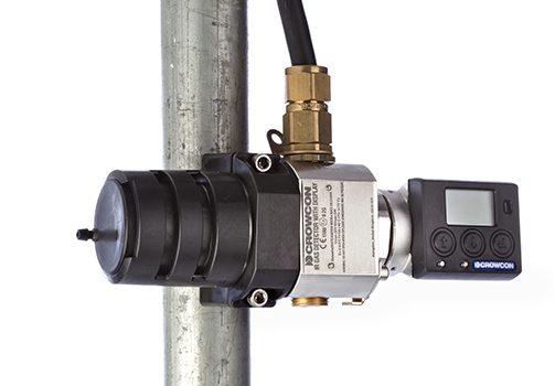 IRmax Gasdetektor monteret
