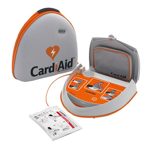 CardiAid Fuldautomatisk hjertestarter